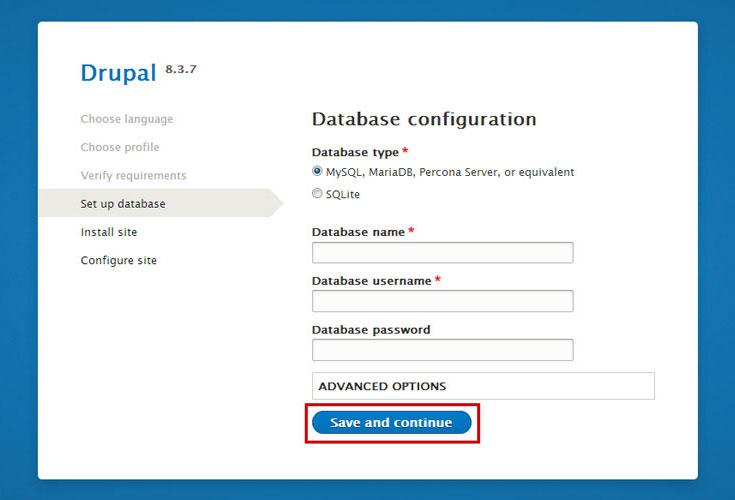 drupal-database