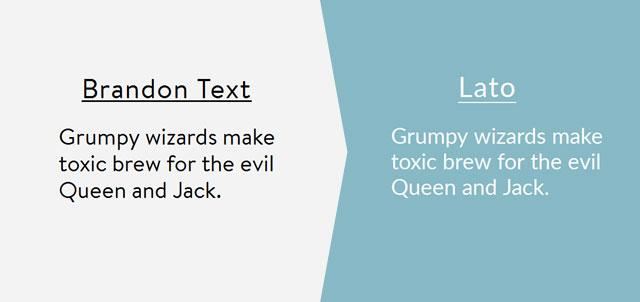 93 most popular premium fonts alternative google fonts (Updated
