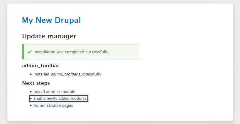 drupal-module-enable