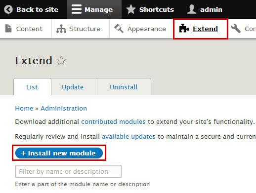 drupal-module-installer
