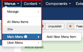 joomla-article-menu-setting