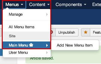 joomla-article-menu-setting