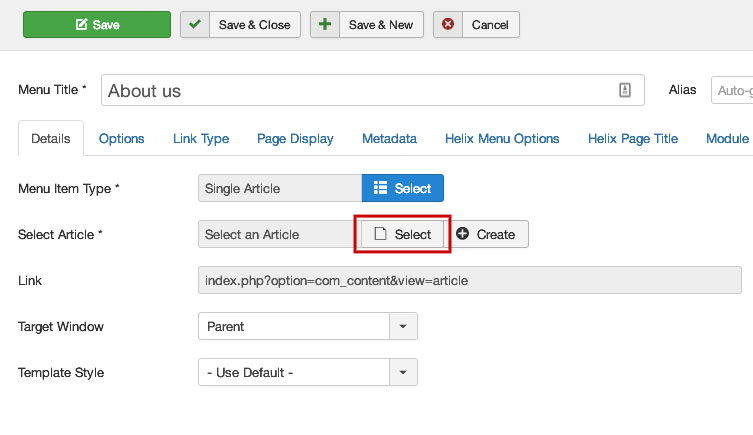 joomla-menu-item-select