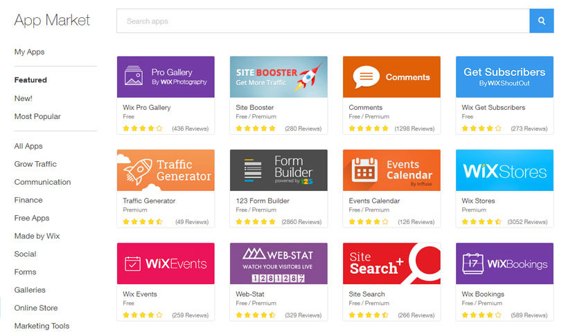 wix-apps