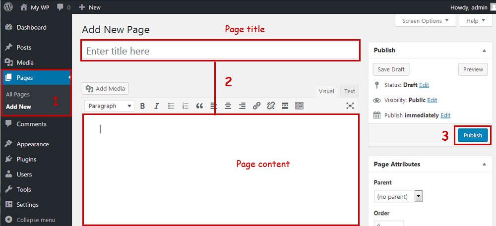 wp-add-page